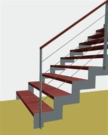 Zábradlí ke schodišti
